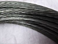 1.5m BRAIDED GALVANISED STEEL CABLE