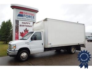 2015 Ford E-350 16 Ft Cube Van, 53,581 KMs, 5.4L V8 Gasoline