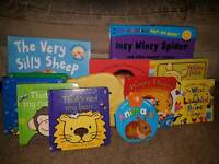 Baby and toddler books - selection
