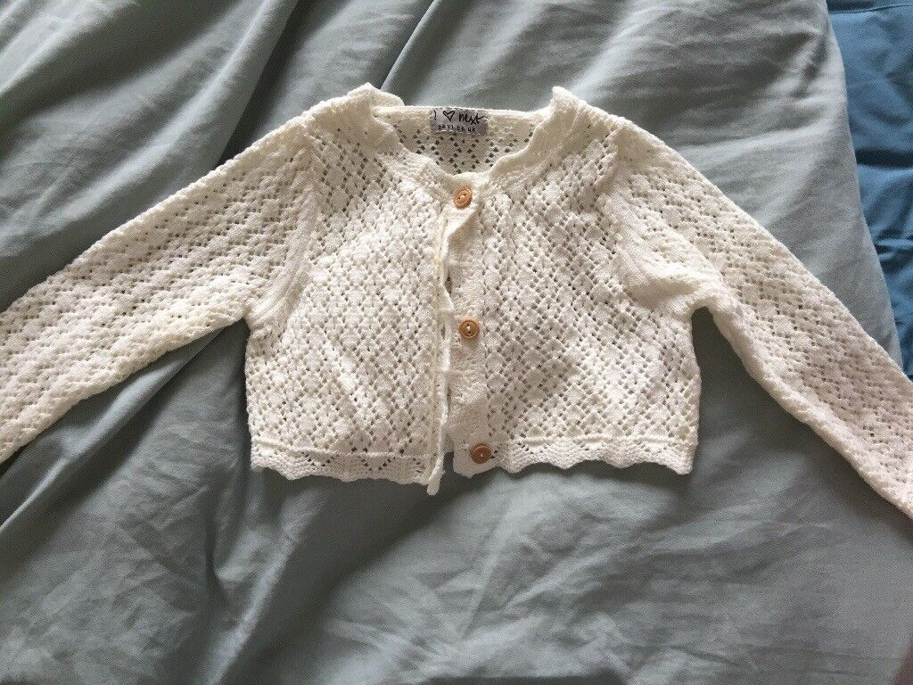 Girls cardigan, 12-18 months