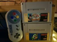 Nintendo console and games