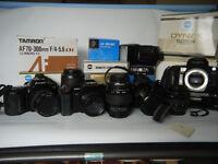 Minola /Sony Alpha digital/film lenses- also film SLR bodies