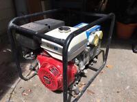 Honda GX390 6.5kva generator.