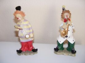 Collection of Clown ornaments