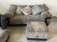 Dfs sofa & cuddle chair