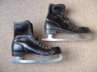 Vintage mens ice skates