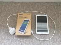Samsung Galaxy Tab 3 7 inch 8GB White (Very Good Condition) with Box & Charging Cable plus cases