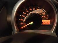 LOW MILAGE Black Peugeot 107 08 plate