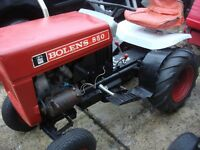 tractor bolens model 850 petrol engine on electric start ready to drive