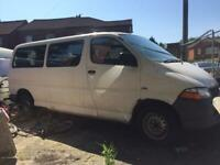 2003 Toyota power van 12 seater bus drives perfect