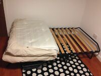 Folding guest bed small double by Jay-Be