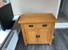 Small oak cupboard in good condition few marks on top grab a bargain £80