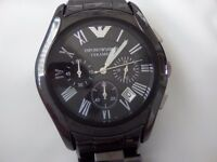 Emporio Armani Ceramic Watch.