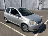 2005 TOYOTA YARIS 1.0L PETROL 1 YEARS MOT GREAT CONDITION FULL SERVICE HISTORY DRIVES GREAT