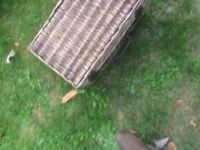 Large Wicker Picnic Hamper