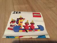 Lego No 215-1 Red indians (1977)