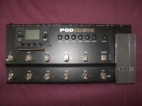 Line 6 POD HD500 - Multi-Effects Processor & Amp Emulator for Guitar , Bass and Vocal.