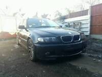 Bmw 330D e46 automatic breaking.