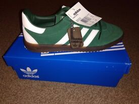 Adidas Intack SPZL Size UK 7.5 Green never worn, brand new in box with tags.