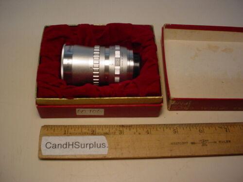 Ichizuka-Kinotar vintage 16mm movie lens f1.4/12.5mm