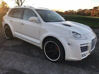 Unique 2005 55 Cayenne Turbo S Designed By Techart 61000 Miles Magnum Body and Interior TRUE ONE OFF