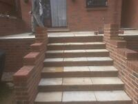 Bricklayer and a general builder. All brick work and hard landscaping undertaken.
