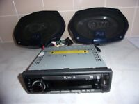 FLI SWAT 5 CAR CD PLAYER 370W 6X9 FLI
