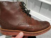 Mens clarks boots size 8