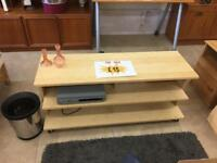"IKEA wooden 42"" tv stand"