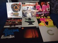 Selection Of Vinyl Records/MYLO/BEASTIE BOYS/MADONNA/THE CHEMICAL BROTHERS & many more..