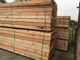 Wooden Scaffold Style Boards 225mm X 38mm X 3.6m/4.2m ~ New