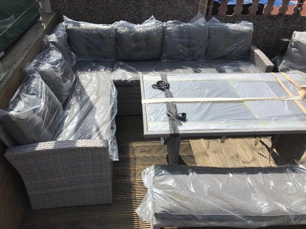 Yakoe Outdoor corner sofa Furniture - 10 Seater Casual ...