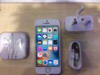 IPHONE 5S WHITE/ VISIT MY SHOPP. / UNLOCKED / 32 GB/ GRADE A / WARRANTY + RECEIPT