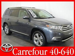 2012 Toyota Highlander Cuir+Bluetooth+Camera de Recul 7 Passager