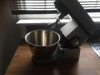 Grey kenwood food mixer