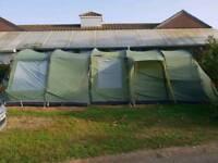 Vango Samara 600 tent and Front Porch