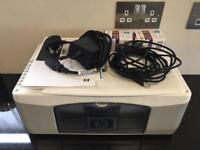 HP deskjet F300 all in one printer with 2 new inks