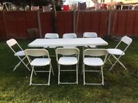 Cheap quality chairs and tables for hire