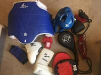 SOLD - Taekwando and boxing pads/equipment