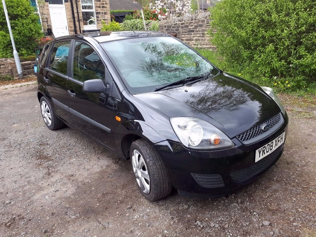ford fiesta 1 4 turbo diesel 2008 black style 30 tax 60 mpg in bramley west yorkshire. Black Bedroom Furniture Sets. Home Design Ideas