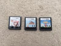 3 Cooking Mama series Nintendo DS games
