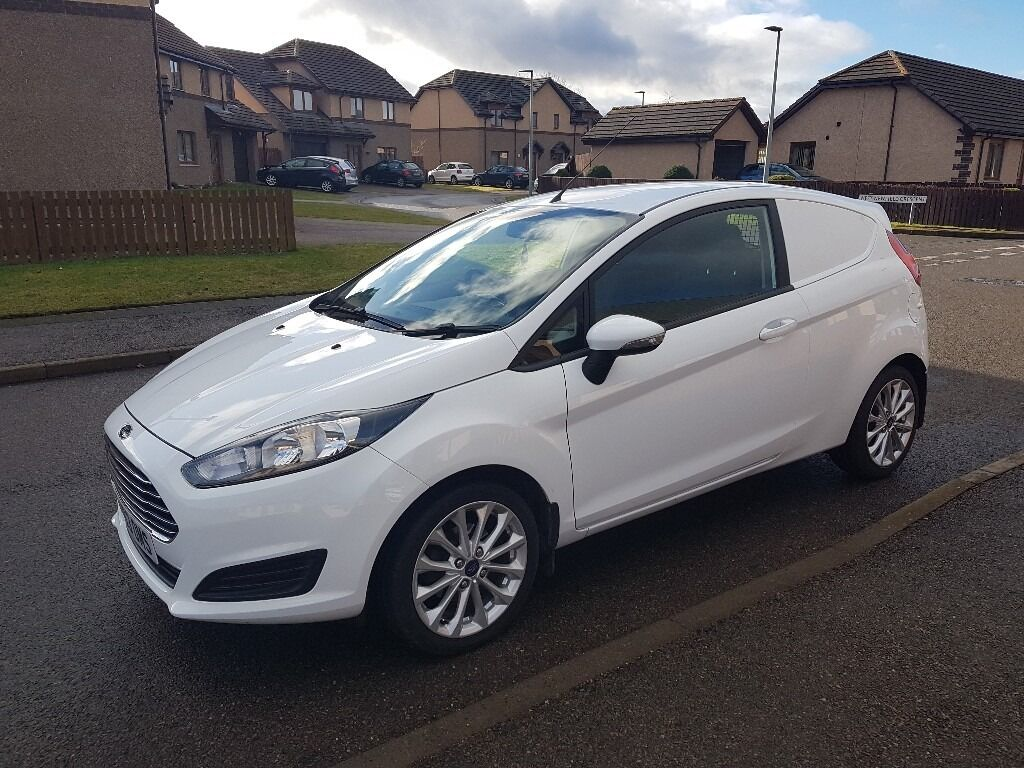 14 Plate Ford Fiesta Car Derived Van In Alness Highland