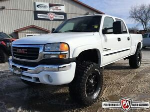 2007 GMC SIERRA 2500HD SLT LIFTED DURAMAX DIESEL!!