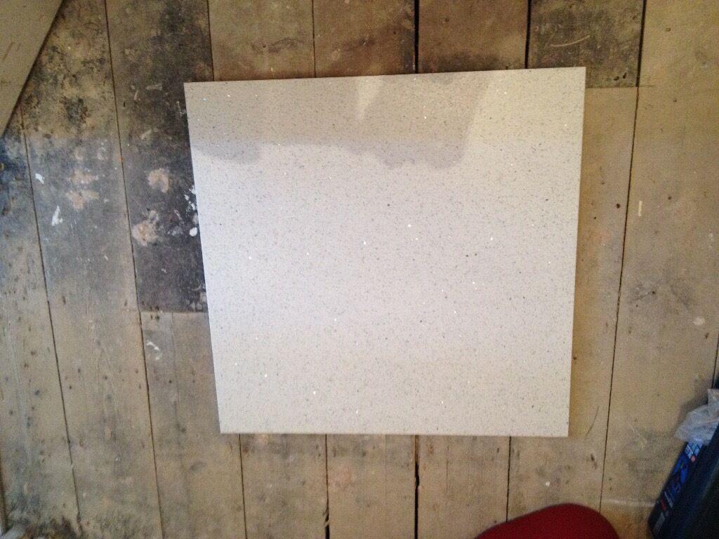 White Quartz Floor Tiles 600 X 600 In Heathrow London Gumtree