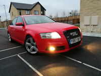 AUDI A6 2.0TDI S LINE AUTO WITH PADDLE SHIFT GEARS