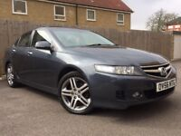 Honda Accord 2.2 i-CDTi EX Saloon 4dr Diesel Manual ((FSH+SAT NAV+LEATHER+SUNROOF))