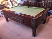 Imperial 7x4ft billiard pool table slate bed
