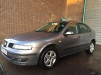 2004 SEAT LEON SX GREAT CONDITION 11 MONTHS MOT LOVELY DRIVE!