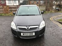 2012 Vauxhall Zafira 1.7 TD Design 5dr Manual @07445775115 12 Months Warranty Included