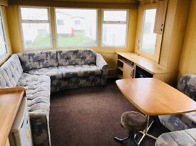 ***BARGAIN STATIC CARAVAN FOR SALE WHITLEY BAY HOLIDAY PARK SITE FEES INCLUDED UNTIL 2019***